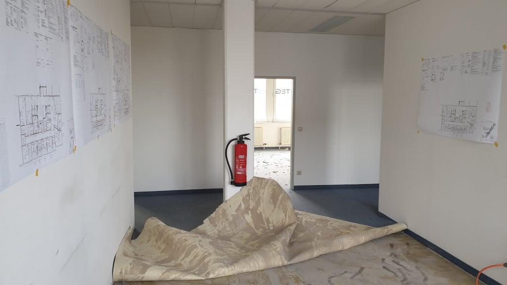 Umbau - der Beginn