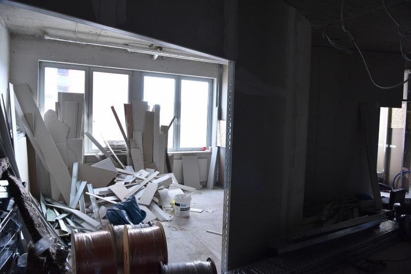 Umbau - Wartezimmer