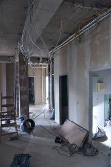 Umbau - Eingangsbereich